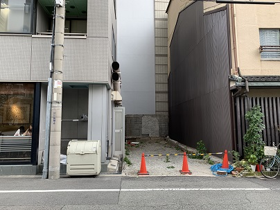 江戸堀新築店舗